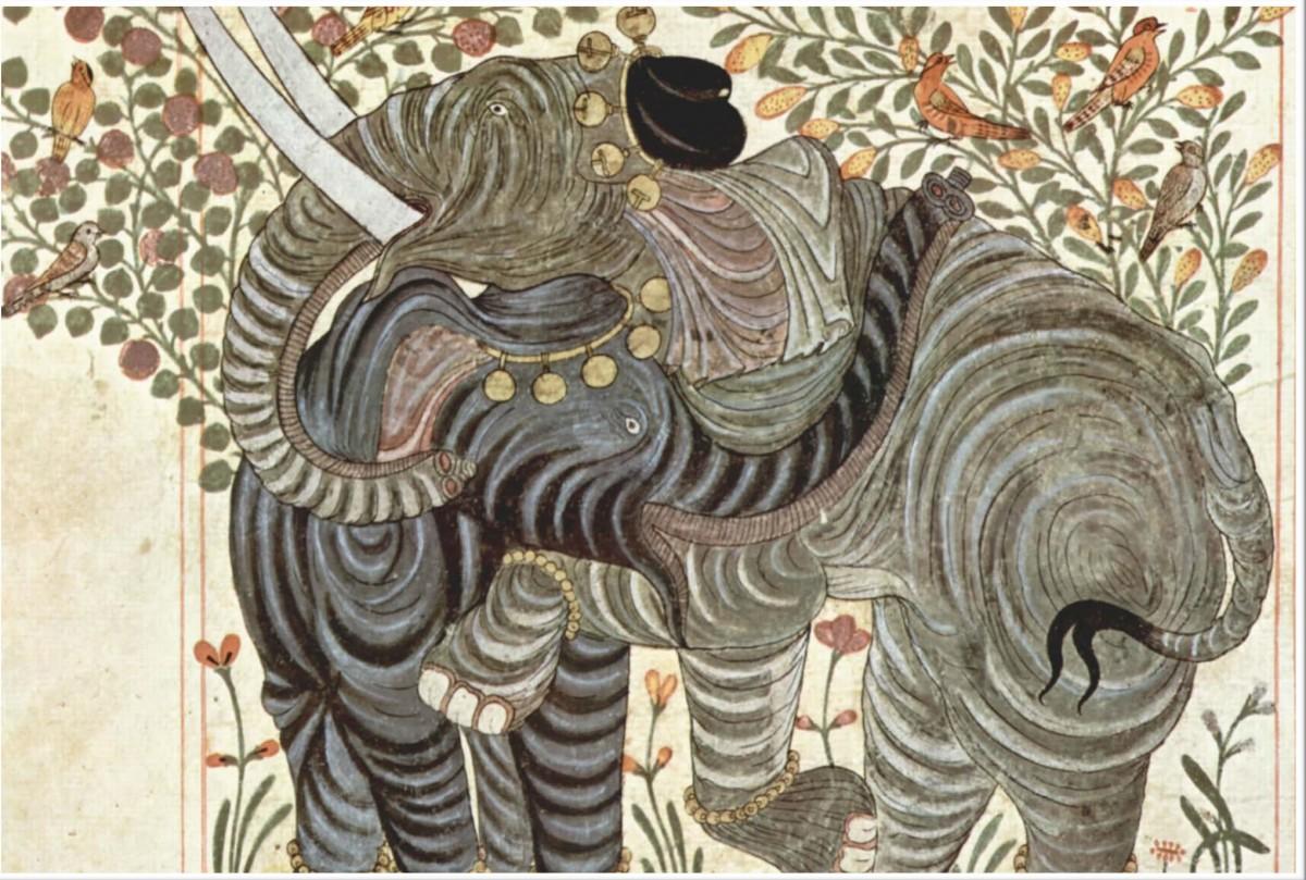 Hayvanlar Kitabı'ndan bir çizim
