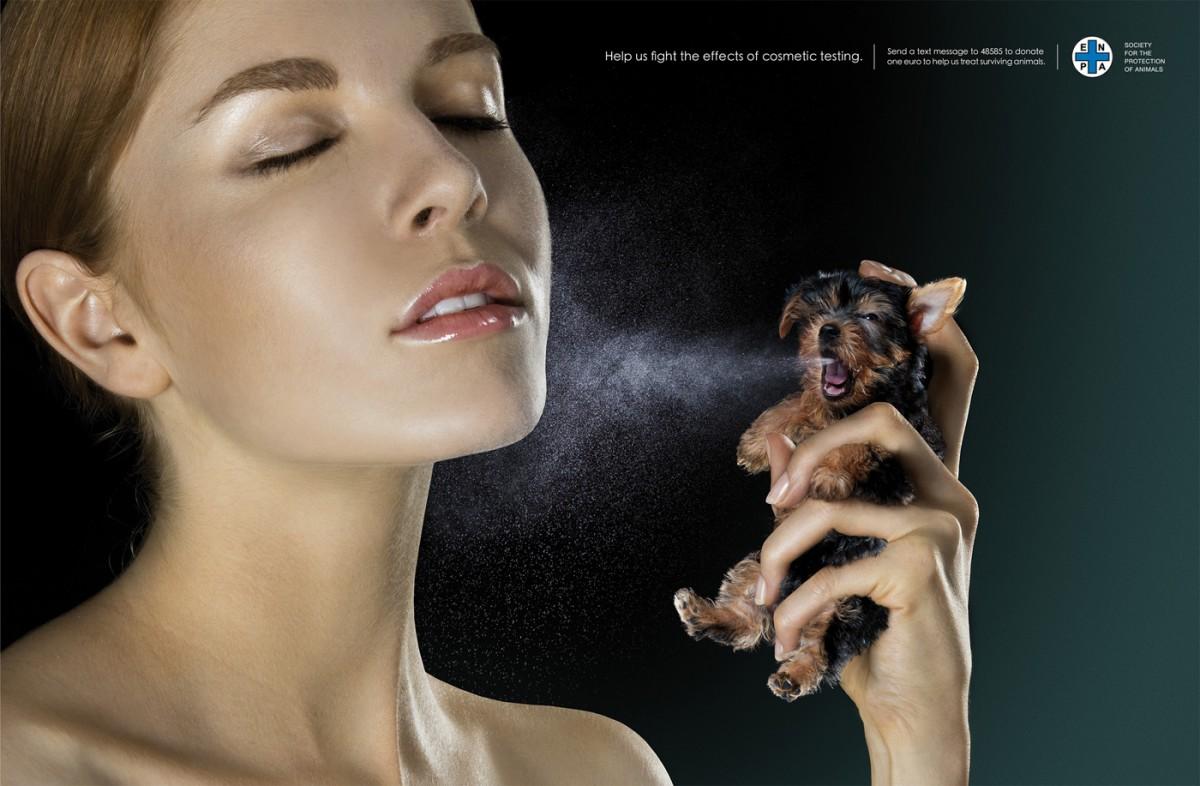 Kozmetik sektörü, hayvan deneylerine kesinlikle izin verilmemesi gereken alanlardan birisidir. Çünkü kozmetik, insanlığa ve bilime hiçbir fayda sağlamayan bir hobidir. Hayvan deneyleri, bir zorunluluk olduğu müddetçe yapılmalıdır. Bir grup insanın daha hoş gözüküp kokması için hayvanlarda deney yapmak, tamamen keyfi bir cinayettir ve karşı durulmalıdır. Bu konu, avcılığa biraz benzer. Vahşi hayattaki insanlar avlanarak hayvan öldürmek zorundadırlar. Kimse neden hayvan öldürdüklerini sormaz. Ancak