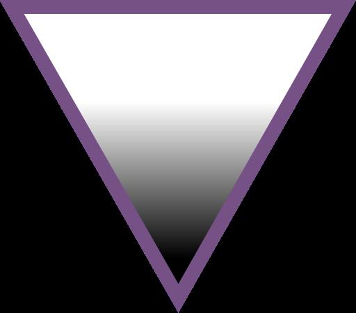 AVEN Üçgeni olarak bilinen ve aseksüelliği tanımlayan grafik. Üçgenin üst kısmı, detaylarını burada izah ettiğimiz Kinsey Skalası'nı, yani insanların her türlü cinsel yöneliminin dağılımını göstermektedir. Üçgenin en altındaki 3. köşe ise, cinsel yönelimin