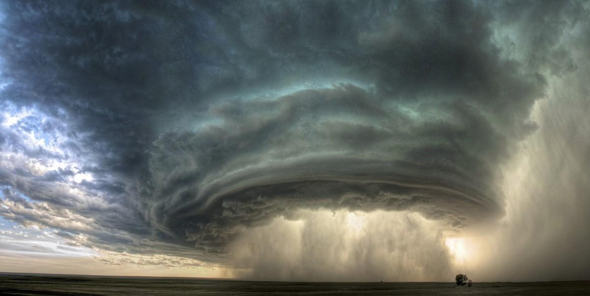 Fotoğraf 1: Süperhücre Orajı