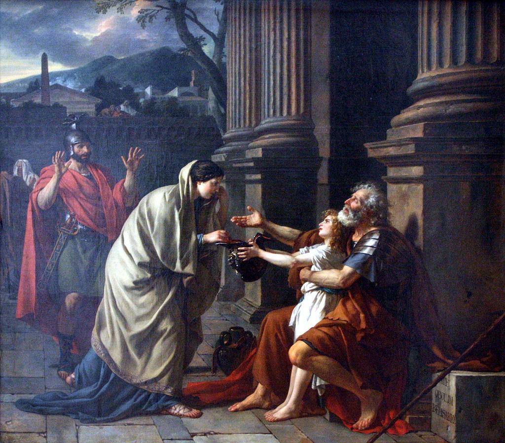 Yardım Dilenen Belisarius, Jacques-Louis David