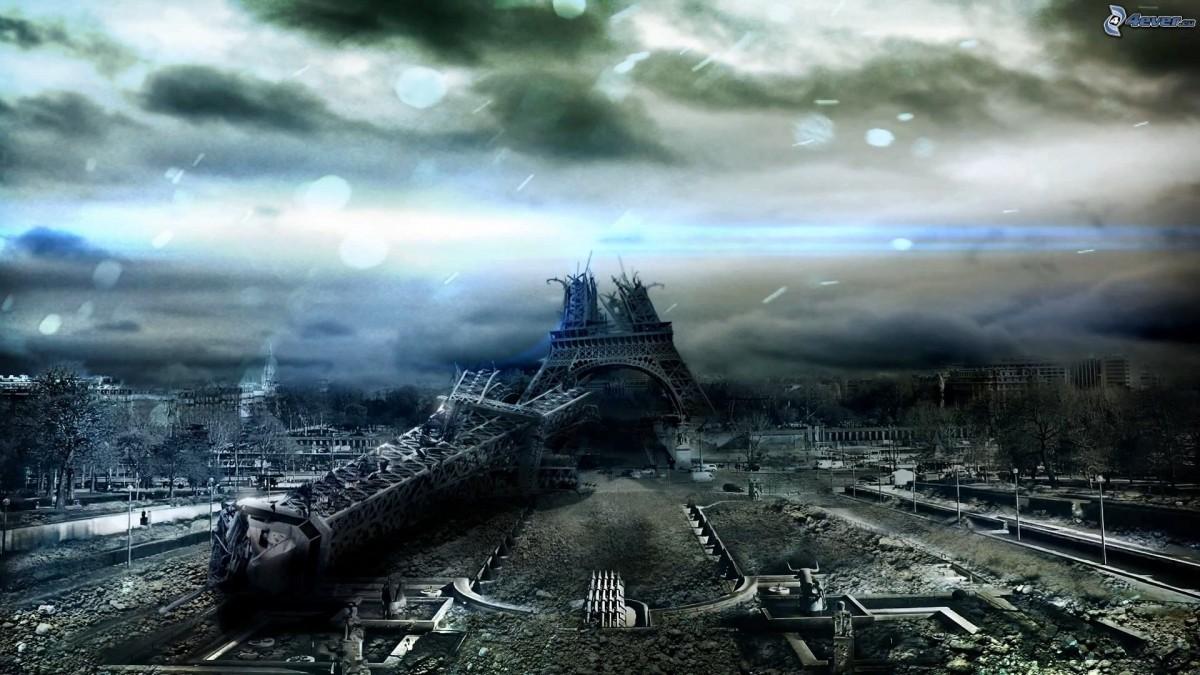 Eiffel Kulesi'nin yaklaşık sonu...