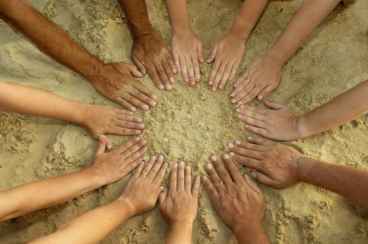 İnsanlarda deri rengi bakımından çeşitlilik...