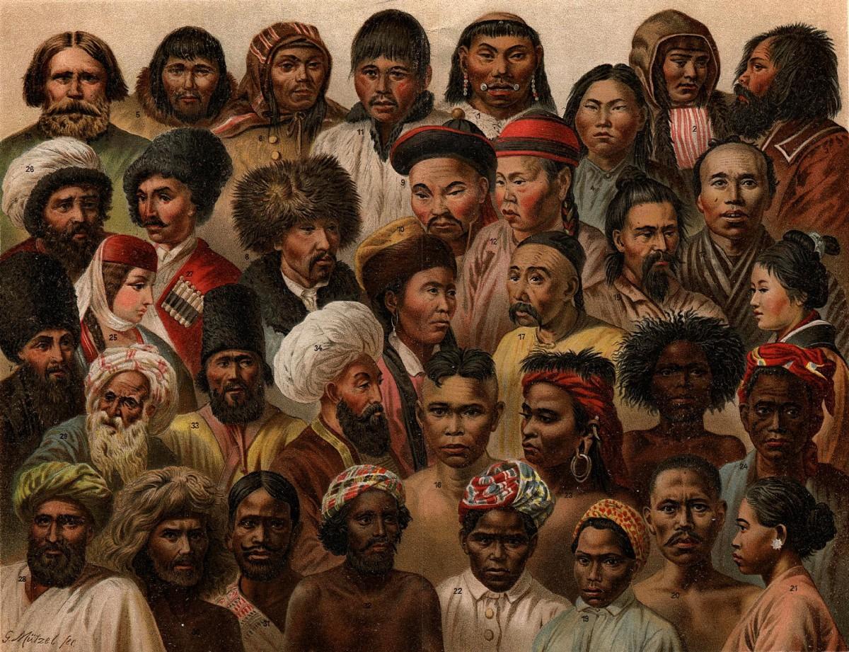 İnsanda genel çeşitliliğe dair bir çizim...