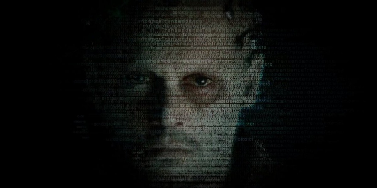 Filmde Johnny Depp'in (Dr. Caster) bilgisayara aktarılmış görüntüsü...