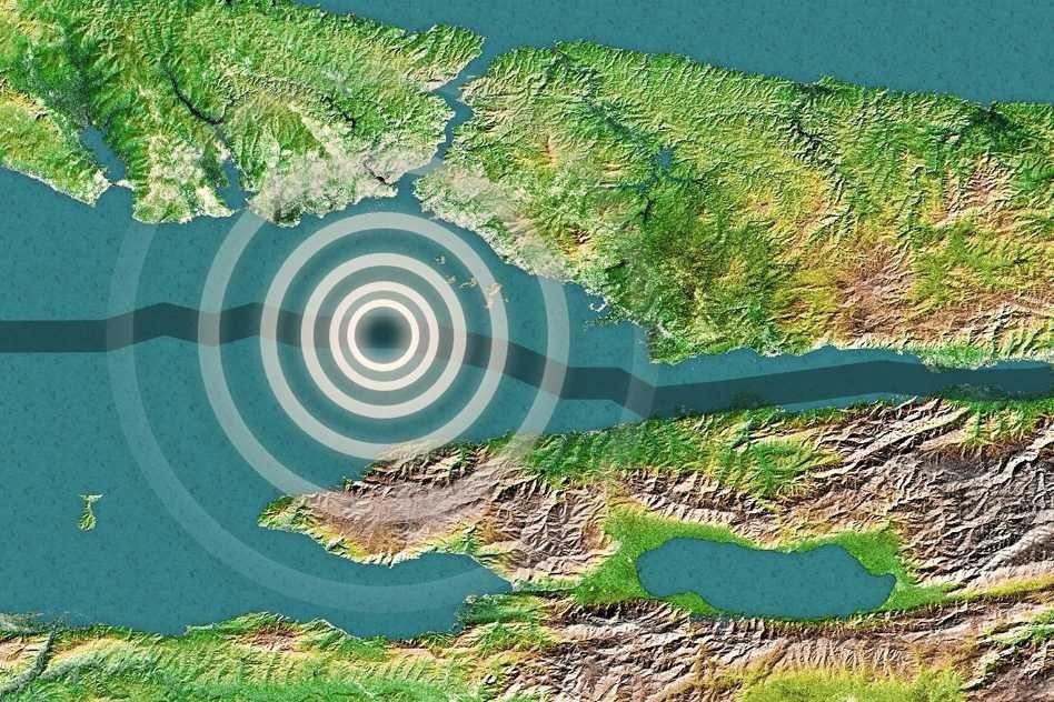 Massachussetts Institute of Technology (MIT) tarafından yapılan bir analiz sonucunda depremin beklenen merkez üssü.