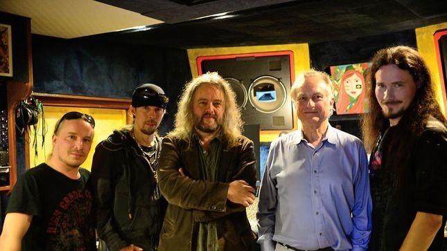 Fotoğraf: Richard Dawkins Nightwish grubu üyeleri ile