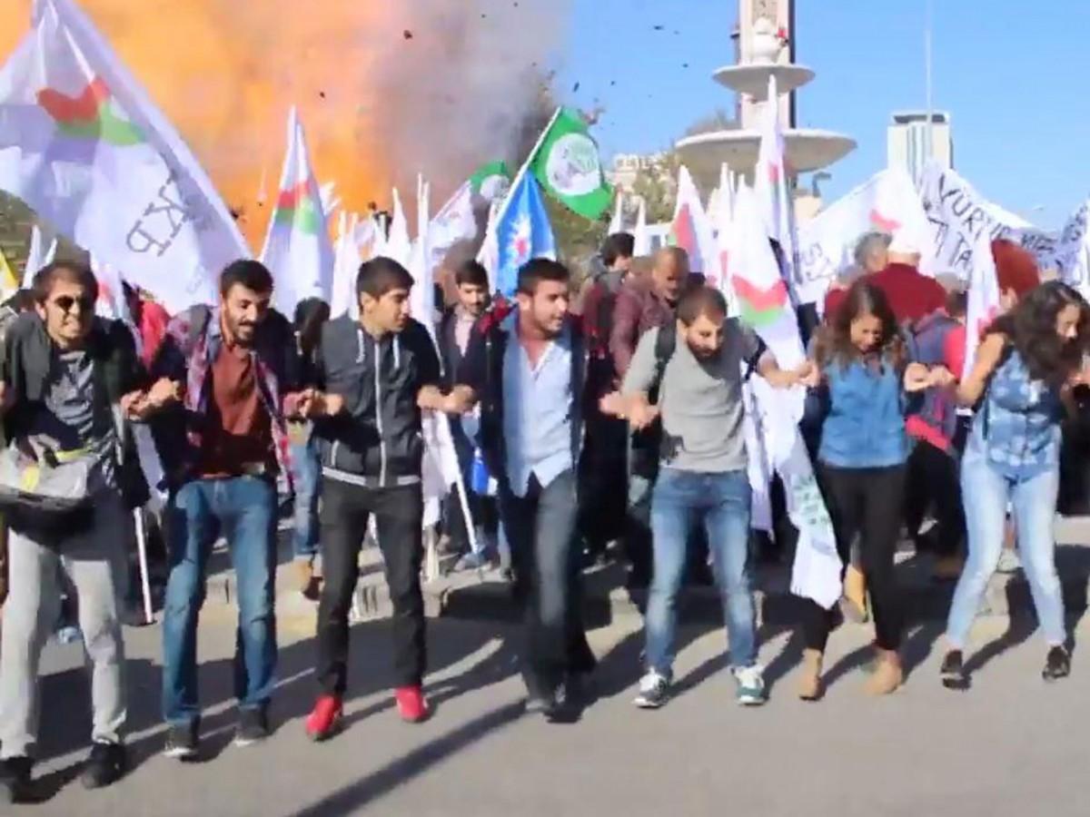 10 Ekim 2015 Ankara Katliamı: Patlama Anı